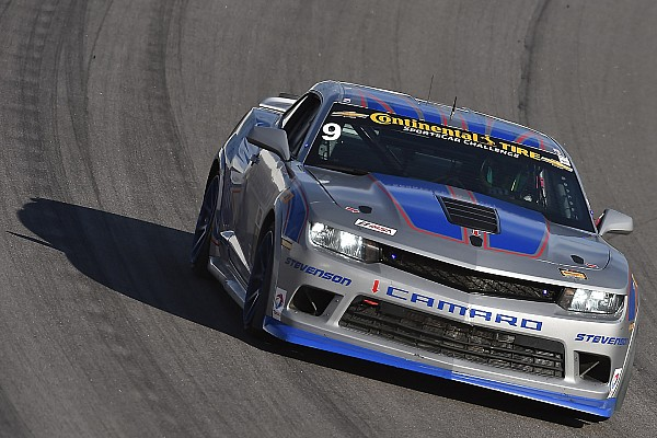 Matt Bell puts Stevenson Camaro on front row for Continental Challenge