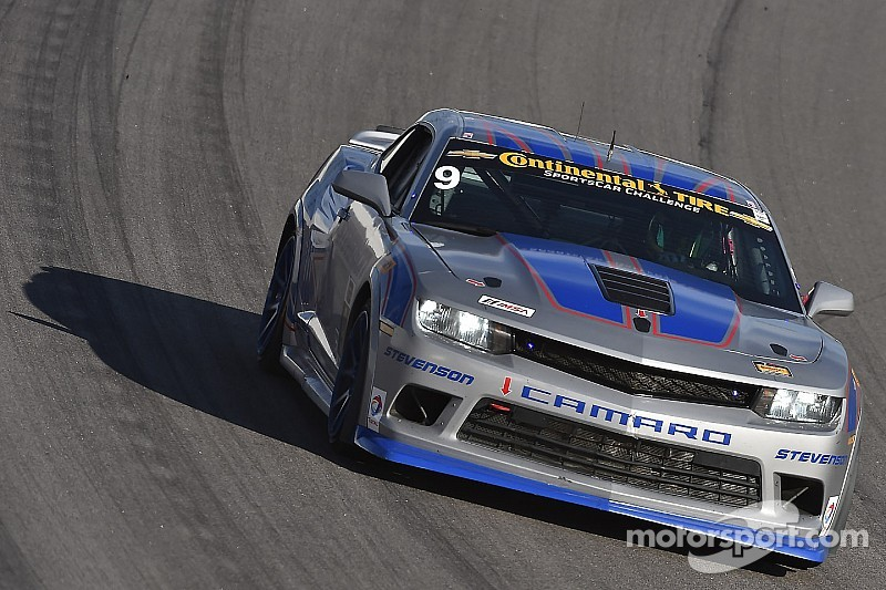 Matt Bell puts Stevenson Camaro on front row for Continental Challenge