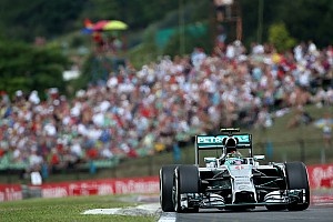 Formula 1 Qualifying report Mercedes' Rosberg took his sixth pole position of the season at the Hungaroring
