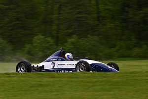 USF2000 Race report Misfortune for Enerson hands wet-weather win to Eidson