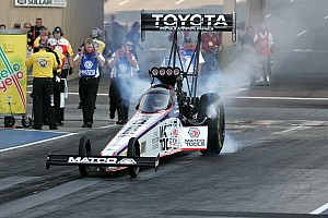 NHRA Race report Antron Brown can't close the deal in Seattle