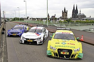 DTM Preview DTM power in Cologne's historic city