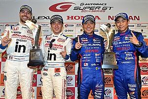 Super GT Race report Naoki Yamamoto and Frederic Makowiecki win at Fuji