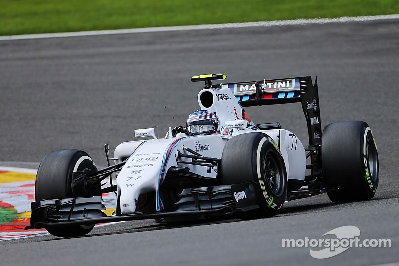 Bottas qualified sixth and Massa ninth for tomorrow's Belgian GP