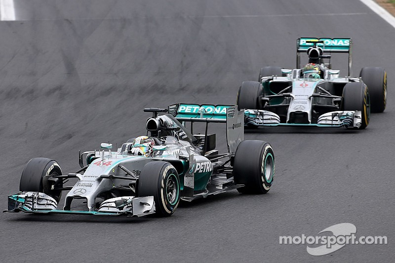 Silver duo still warring long after Spa crash