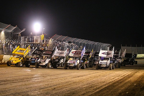 World of Outlaws Sprint car racing, the show must go on
