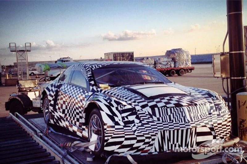 Cadillac GT3 spotted at Chicago airport?