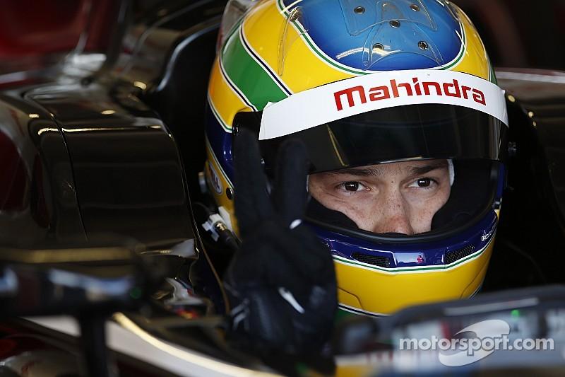 Senna crashes out of Beijing ePrix on opening lap