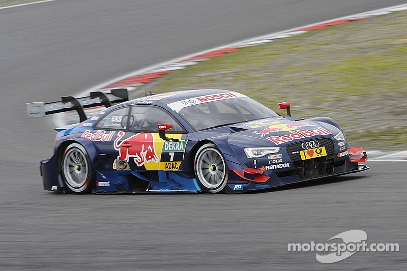 Audi on front row of the grid at the Lausitzring