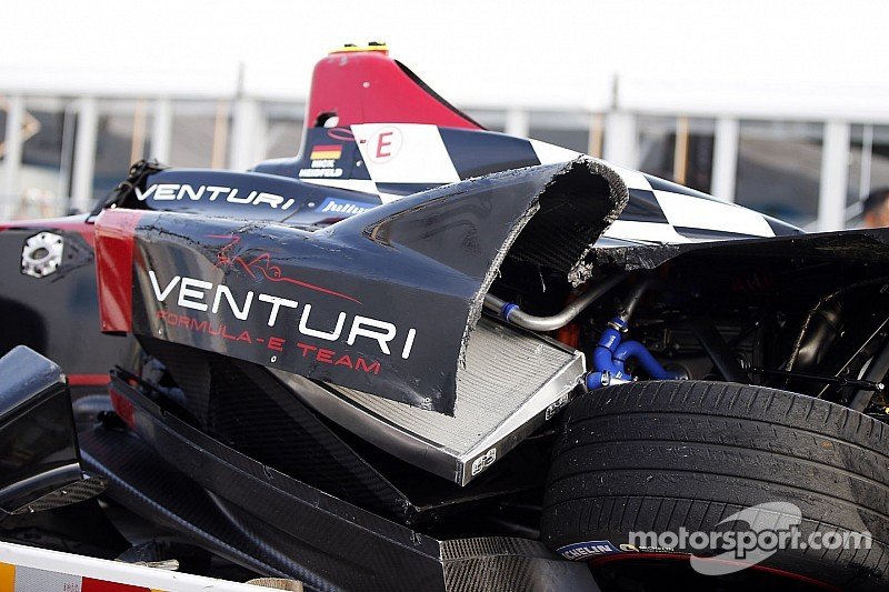 How will Formula E crash affect Heidfeld and Prost at Rebellion?