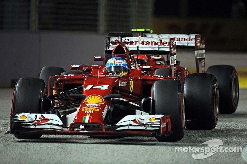 Ferrari on qualifying for tomorrow's  Singapore GP: Better than it looks