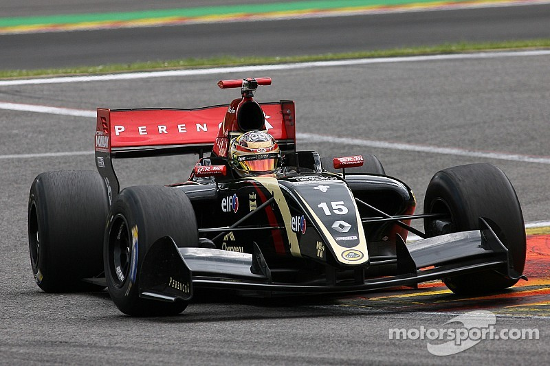Marlon Stockinger dominates practice at Castellet