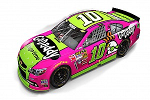 NASCAR Cup Breaking news Powerful in Pink: Danica Patrick promotes breast cancer awareness