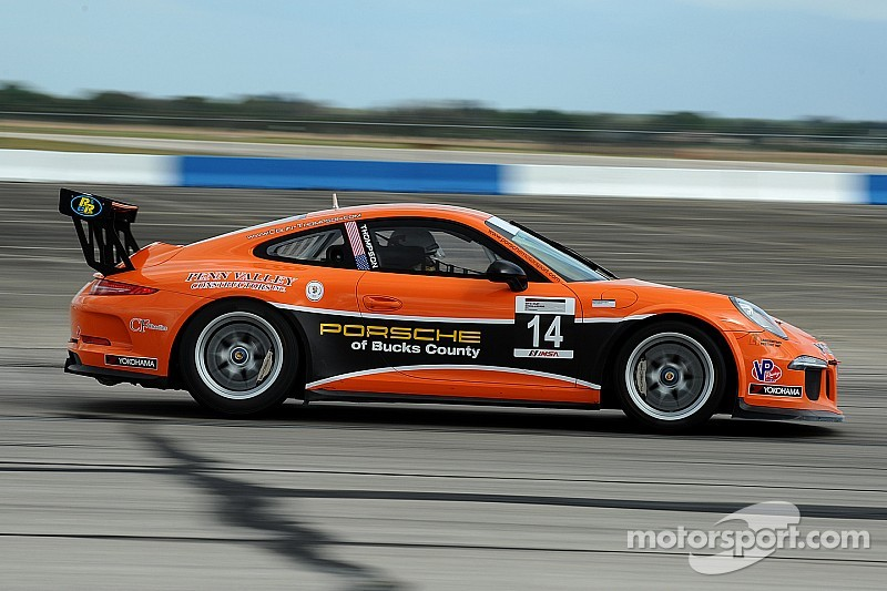 Thompson takes Porsche 911 GT3 Cup championship at Road Atlanta