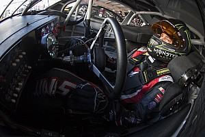 NASCAR Cup Practice report Kurt Busch goes for a wild ride in Happy Hour