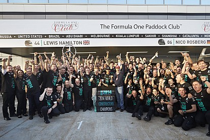 Mercedes gifting title 'bonus' to staff and F1 world