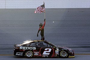 NASCAR Cup Race report Keselowski escapes elimination with victory at Talladega