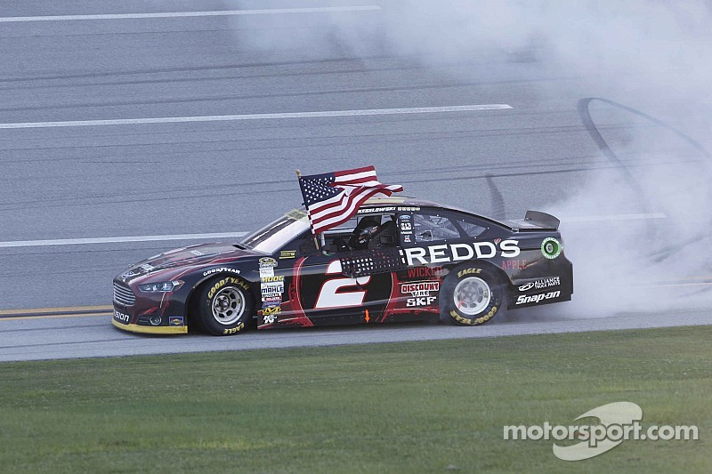 Did Keselowski and the No. 2 team really win the Talladega race at Charlotte?