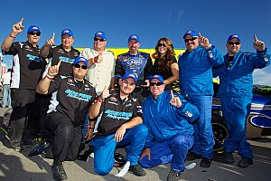 NASCAR Race report NASCAR crowns a K&N champion as Drake earns breakthrough win