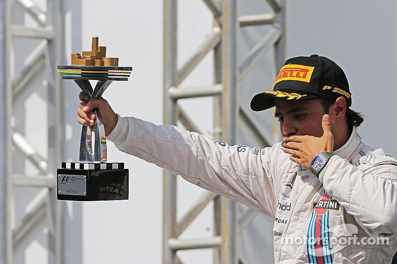 Massa finished third and Bottas tenth in today's Brazilian GP