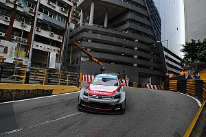 WTCC Qualifying report Macau: Jackpot for Citroën!