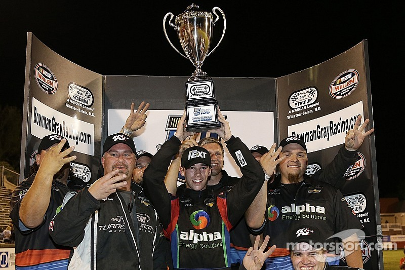 Who are the most popular drivers in the NASCAR regional touring series?
