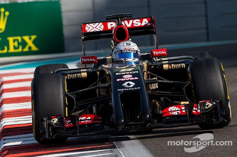No Q2 for Lotus at Yas Marina
