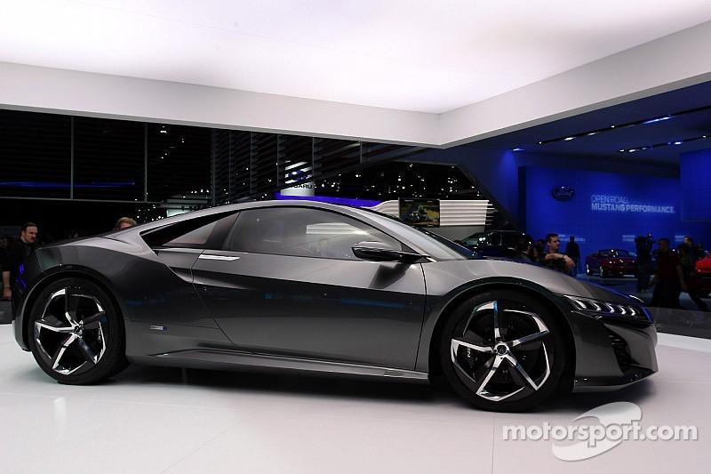 Honda chooses Detroit show for world debut of the NSX