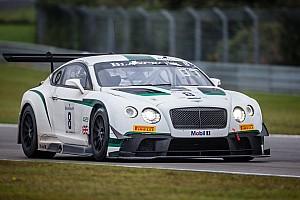 Blancpain Endurance Breaking news Bentley Motorsport announces full 2015 schedule
