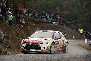 WRC Leg report Sébastien Loeb and Daniel Elena lead the Rallye Monte-Carlo!