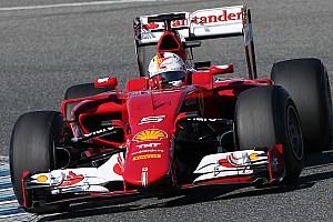 Formula 1 Breaking news Photographer notices new Ferrari paint for 2015