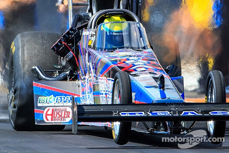 Three-time Top Fuel world champ Larry Dixon welcomes return to Nationals in Phoenix