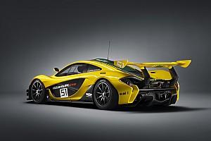 Automotive Breaking news Full technical details of new McLaren P1 GTR