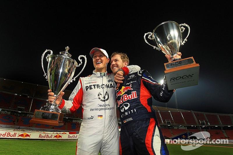 Vettel plays down Schumacher comparison