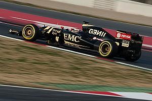 Formula 1 Testing report Lotus' Maldonado continues his impressive form on the third day at Barcelona