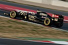 Lotus' Maldonado continues his impressive form on the third day at Barcelona