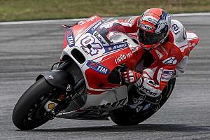 MotoGP Testing report Ducati Desmosedici GP15 makes track debut today at Sepang