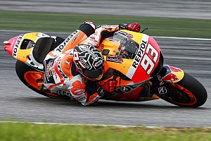 MotoGP Breaking news Marquez ends Sepang MotoGP test on top