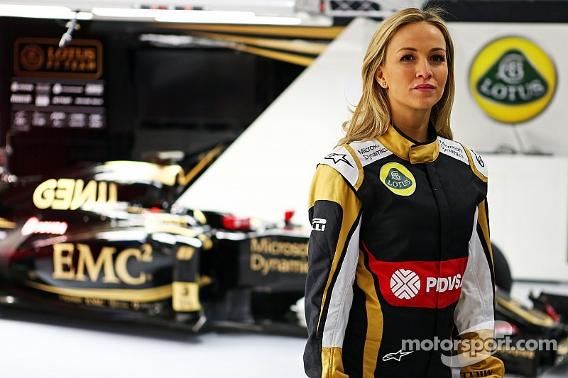 Carmen Jordá se une a Lotus F1