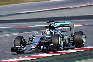 Formula 1 Testing report Technical problem brings early finish for Mercedes on opening day at Barcelona