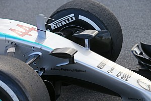 Formula 1 Breaking news Mercedes finds a loophole in camera mount ruling
