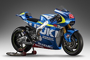MotoGP Breaking news Suzuki reveals MotoGP livery, official name