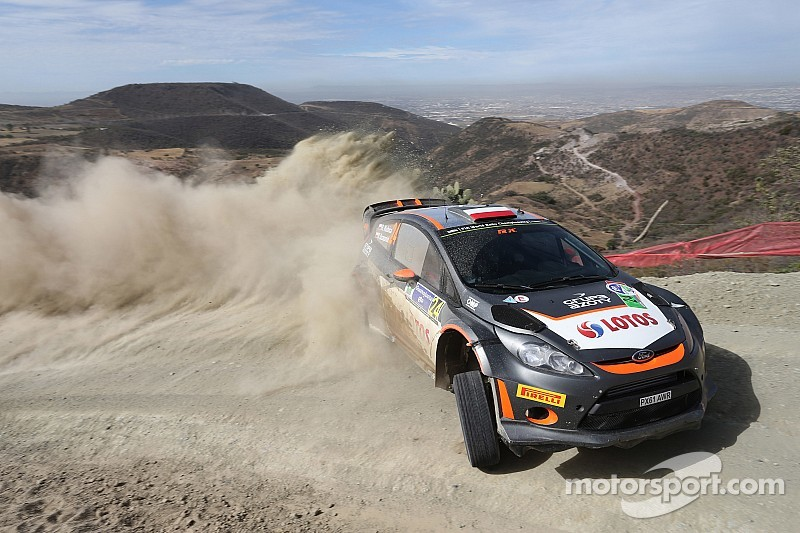 Kubica keeps up stage-winning record on Rally Mexico