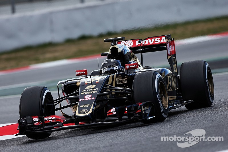Grosjean rules out early podiums