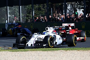 Formula 1 Race report Williams' Massa finishes fourth in today's Australian GP