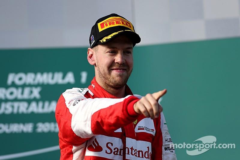 "Sebastian Vettel: ""Forza Ferrari!"""
