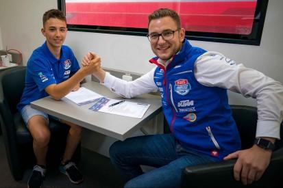 Moto3 2020: PrüstelGP setzt auf den Schweizer Jason Dupasquier