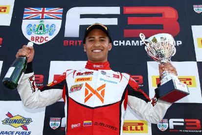 Cousin von Pastor Maldonado fährt für deutsches Formelteam