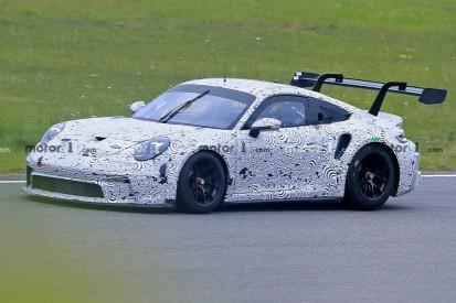 Porsche 911 GT3 Cup (2021) Erlkönig auf dem Nürburgring erwischt