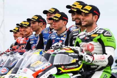 WSBK-Test Barcelona mit Kawasaki, Ducati, Yamaha, BMW und Honda